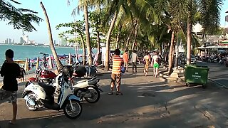 Beach Whores in Pattaya Thailand